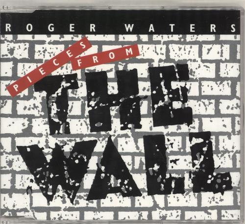 "Roger Waters Pieces From The Wall CD single (CD5 / 5"") UK RWAC5PI20551"