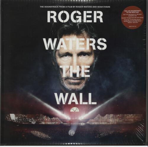Roger Waters The Wall - 180gm - Sealed 3-LP vinyl record set (Triple Album) UK RWA3LTH644254
