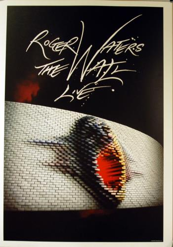 Roger Waters The Wall Live poster UK RWAPOTH645823