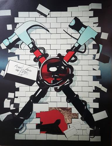 Roger Waters The Wall Live poster UK RWAPOTH645827