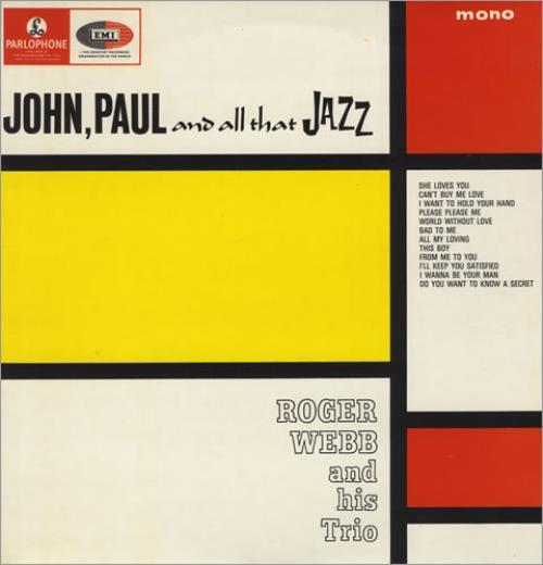 Roger Webb John, Paul And All That Jazz vinyl LP album (LP record) UK RWBLPJO432903