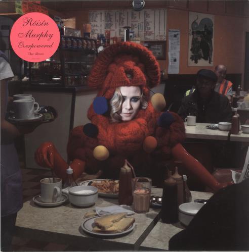 Roisin Murphy Overpowered - Pink & Orange Vinyl 2-LP vinyl record set (Double Album) UK RMP2LOV748252