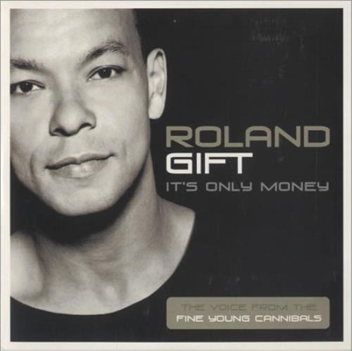 Roland gift its only money european promo cd single cd5 5 roland gift its only money cd single cd5 5 european rlgc5it208209 negle Images