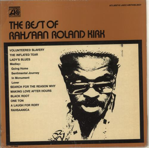 Roland Kirk The Best Of Rahsaan Roland Kirk vinyl LP album (LP record) US LKKLPTH713491