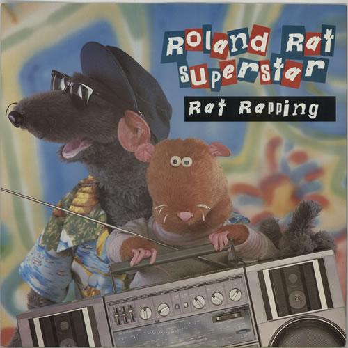 "Roland Rat Rat Rapping 12"" vinyl single (12 inch record / Maxi-single) UK RRT12RA273807"