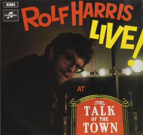 Rolf Harris Live At the Talk Of The Town - Stereo vinyl LP album (LP record) UK RLFLPLI521704