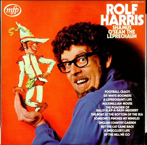 Rolf Harris Shamus O'Sean The Leprechaun vinyl LP album (LP record) UK RLFLPSH499399