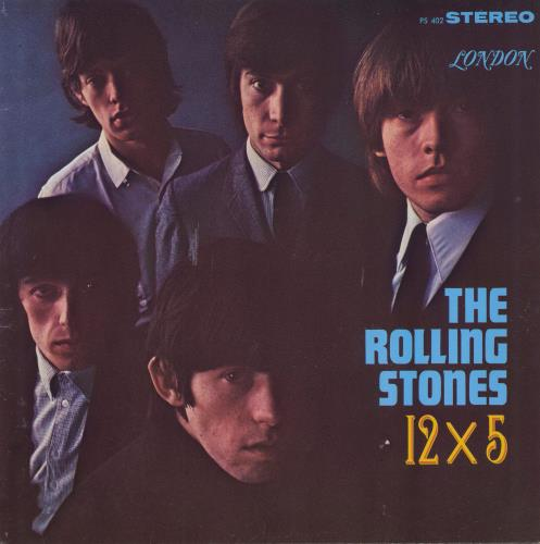 Rolling Stones 12 x 5 [Twelve By Five] - sunset label