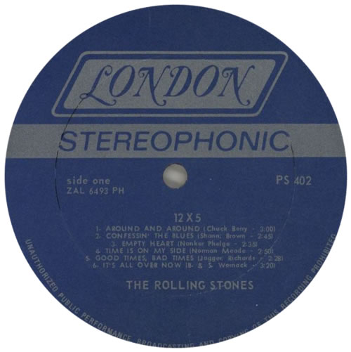 Rolling Stones 12 x 5 - Twelve By Five - 4th vinyl LP album (LP record) US ROLLPXT592641