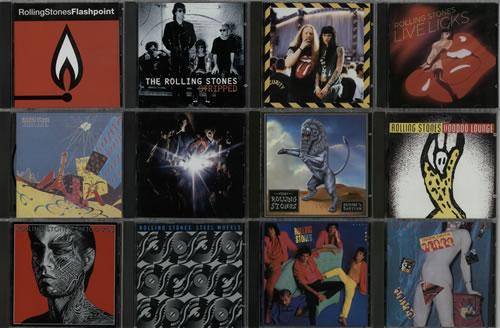 Rolling Stones 1980-2005 Albums CD album (CDLP) UK ROLCDAL621316