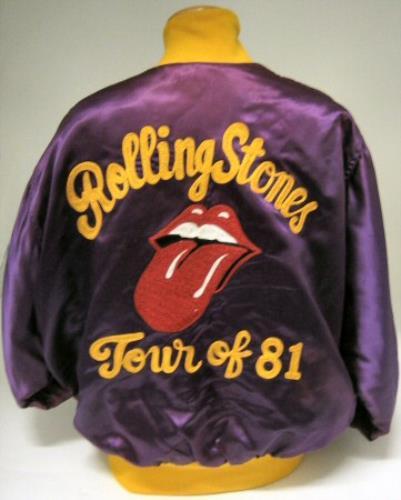 Rolling Stones 1981 Tour jacket US ROLJATO379167