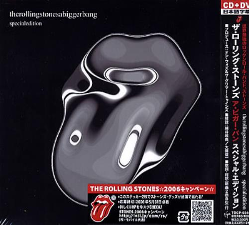 Rolling Stones A Bigger Bang Special Edition Japanese 2