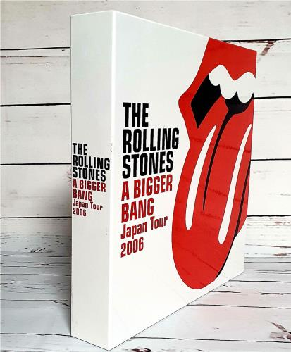 Rolling Stones A Bigger Bang Japan Tour 2006 CD Album Box Set Japanese ROLDXAB418760