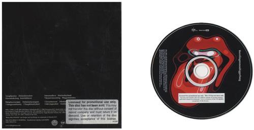 Rolling Stones A Bigger Bang CD album (CDLP) US ROLCDAB336941