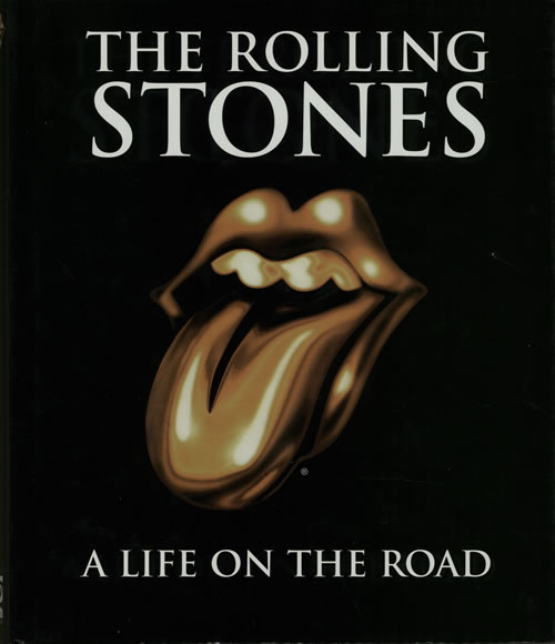 Rolling Stones A Life On The Road book US ROLBKAL642557
