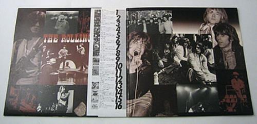Rolling Stones A Rolling Stone Gathers No Moss + Obi 2-LP vinyl record set (Double Album) Japanese ROL2LAR75284