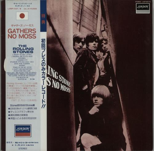 Rolling Stones A Rolling Stone Gathers No Moss - Red Vinyl 2-LP vinyl record set (Double Album) Japanese ROL2LAR236918