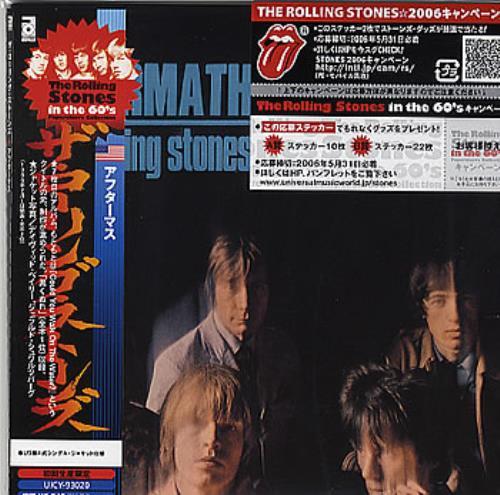 Rolling Stones Aftermath [US Version] Japanese CD album