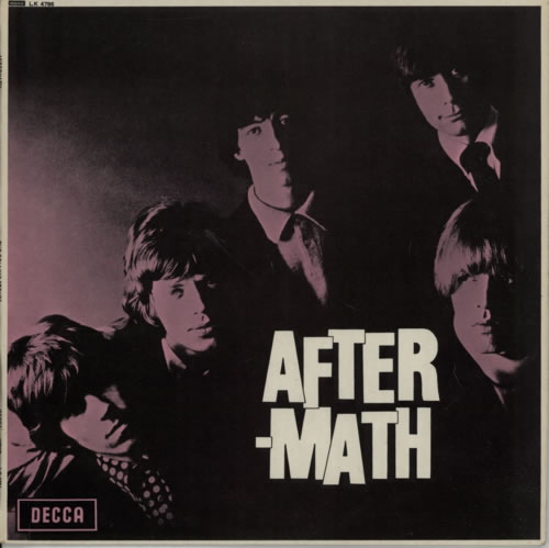 Rolling Stones Aftermath - 1st - EX vinyl LP album (LP record) UK ROLLPAF614379