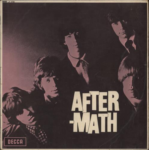Rolling Stones Aftermath - 1st - VG vinyl LP album (LP record) UK ROLLPAF583970