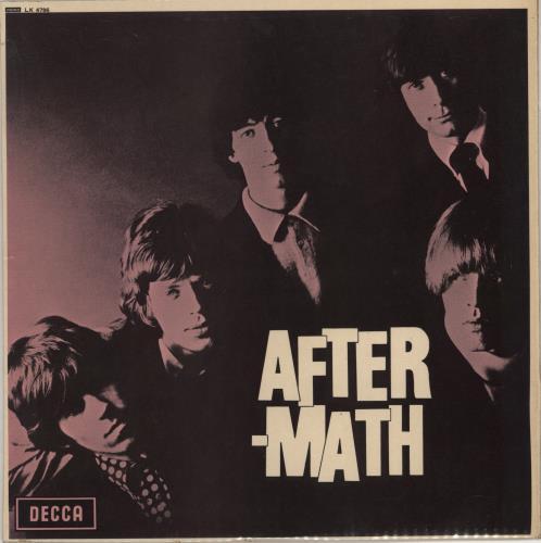 Rolling Stones Aftermath - 6th - EX vinyl LP album (LP record) UK ROLLPAF205497