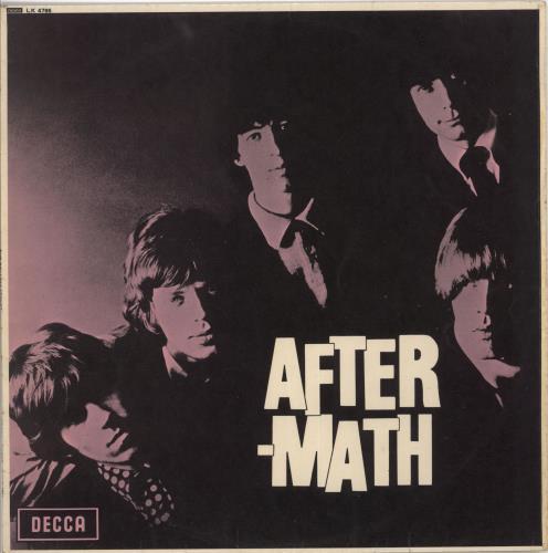 Rolling Stones Aftermath - 6th - VG - W.O.C. vinyl LP album (LP record) UK ROLLPAF725853