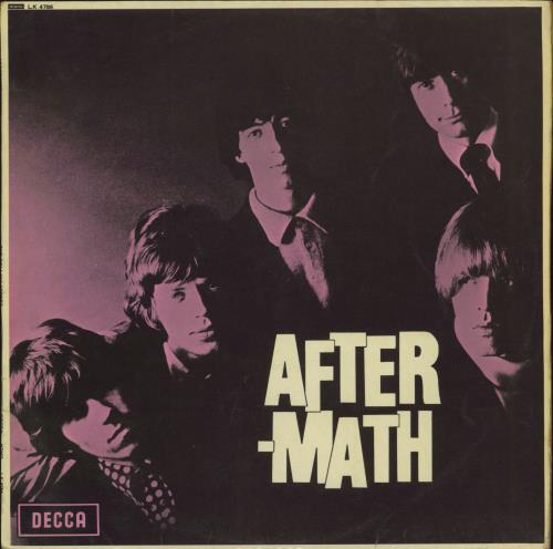 Rolling Stones Aftermath - 6th - VG vinyl LP album (LP record) UK ROLLPAF580581