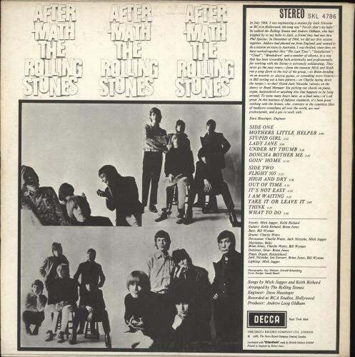 Rolling Stones Aftermath - Export vinyl LP album (LP record) UK ROLLPAF632846