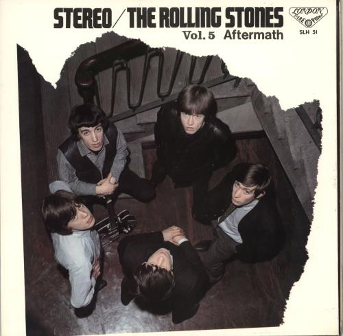 Rolling Stones Aftermath - VG vinyl LP album (LP record) Japanese ROLLPAF706871