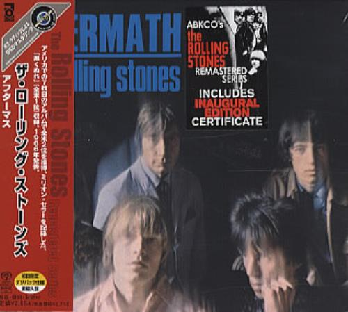 Rolling Stones Aftermath super audio CD SACD Japanese ROLSAAF229119