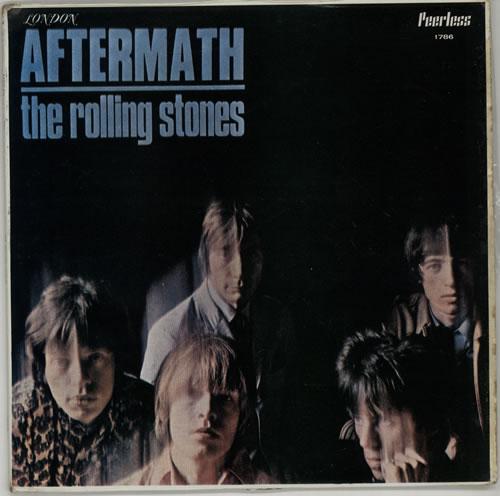 Rolling Stones Aftermath Mexican vinyl LP album (LP record
