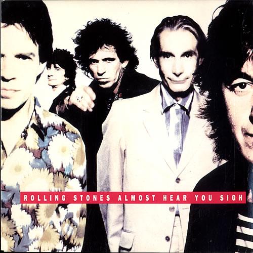 "Rolling Stones Almost Hear You Sigh - Diff P/s 7"" vinyl single (7 inch record) Dutch ROL07AL56528"