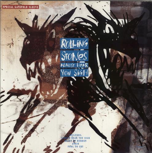 "Rolling Stones Almost Hear You Sigh - Gatefold 12"" vinyl single (12 inch record / Maxi-single) UK ROL12AL16391"