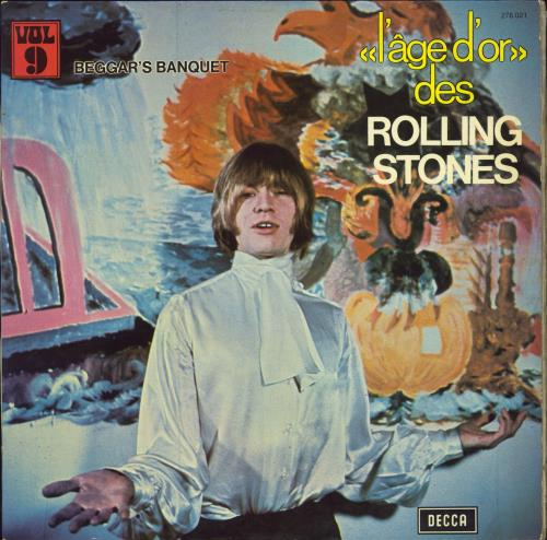 Rolling Stones Beggars Banquet - «l'âge d'or» Vol 9 French