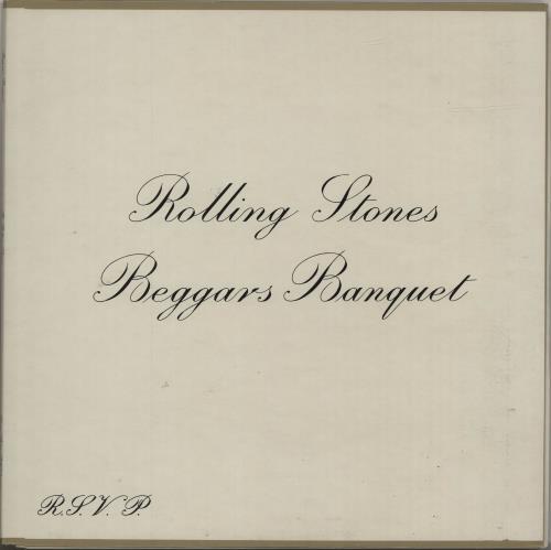 Rolling Stones Beggars Banquet - Boxed (1st Label Variant) vinyl LP album (LP record) UK ROLLPBE74061