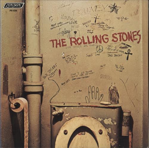 Rolling Stones Beggars Banquet - Remastered vinyl LP album (LP record) US ROLLPBE705213