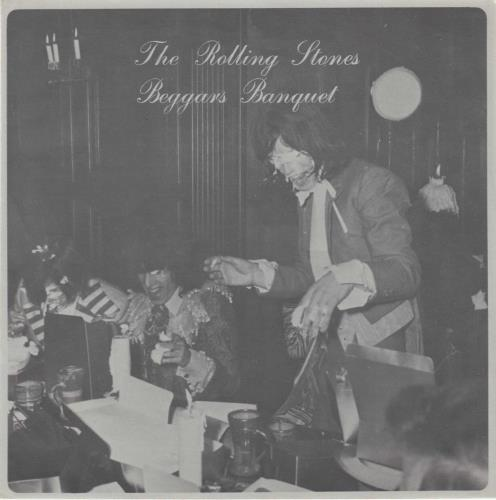 "Rolling Stones Beggars Banquet Flexi Disc 7"" vinyl single (7 inch record) Japanese ROL07BE319118"