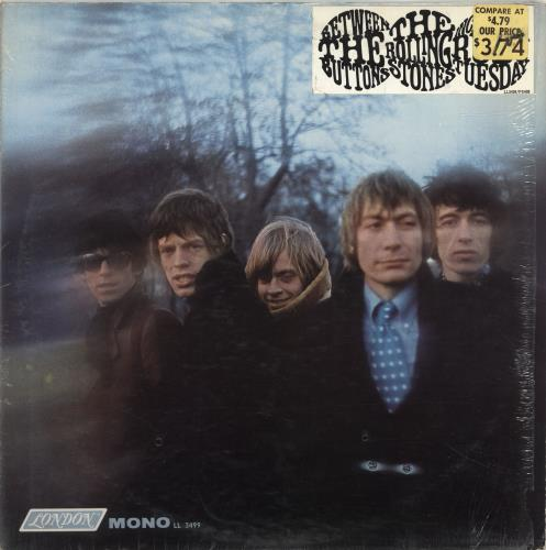 Rolling Stones Between The Buttons Price Sticker Shrink