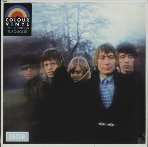 Rolling Stones Between The Buttons - Turquoise Vinyl - Sealed vinyl LP album (LP record) UK ROLLPBE757314