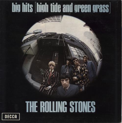 Rolling Stones Big Hits (High Tide And Green Grass) vinyl LP album (LP record) UK ROLLPBI555273