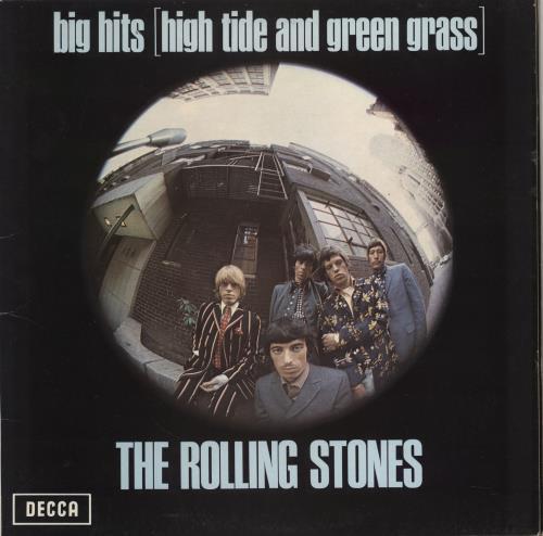 Rolling Stones Big Hits (High Tide And Green Grass) vinyl LP album (LP record) UK ROLLPBI762887