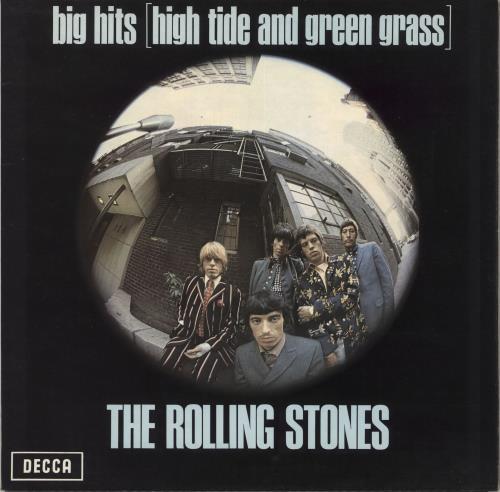 Rolling Stones Big Hits + Booklet - 3rd vinyl LP album (LP record) UK ROLLPBI331393