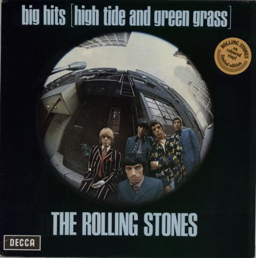 Rolling Stones Big Hits [High Tide And Green Grass  - Orange Vinyl vinyl LP album (LP record) Dutch ROLLPBI45905