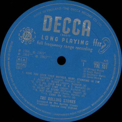 Rolling Stones Big Hits - 1st - DG - EX vinyl LP album (LP record) UK ROLLPBI588389