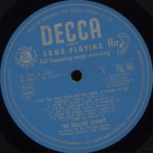 Rolling Stones Big Hits - 1st - DG - VG vinyl LP album (LP record) UK ROLLPBI580262