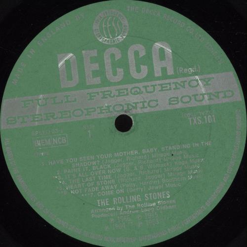 Rolling Stones Big Hits - 1st - VG - Deep Groove vinyl LP album (LP record) UK ROLLPBI702647