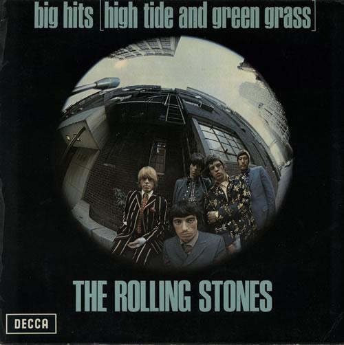 Rolling Stones Big Hits 1st Vg Uk Vinyl Lp Album Lp