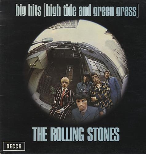 Rolling Stones Big Hits - 4th - EX vinyl LP album (LP record) UK ROLLPBI158162