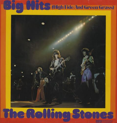 Rolling Stones Big Hits - High Tide And Green Grass vinyl LP album (LP record) German ROLLPBI232514