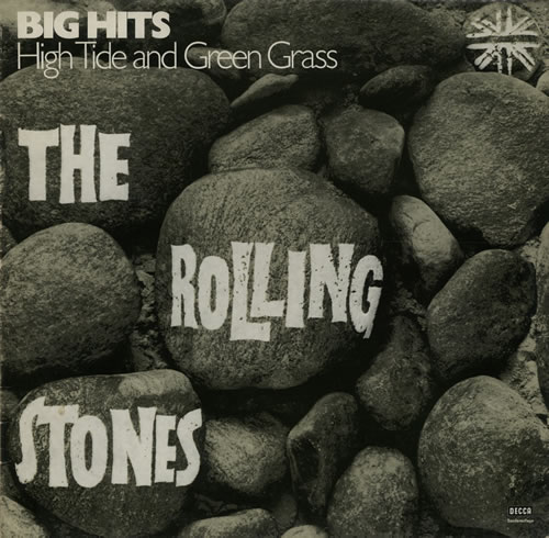 Rolling Stones Big Hits - High Tide and Green Grass vinyl LP album (LP record) German ROLLPBI384105